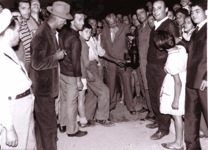 Inaugurazione Acquedotto Destra Secchia, 1963